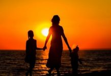 mother-and-children-sunset-featured Copy
