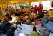 donasi pengungsi italia untuk korban gempa Copy